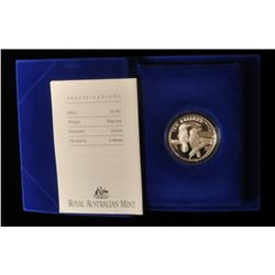 1989 Australian $10 Silver Proof Coin