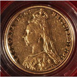 1893 British Sovereign