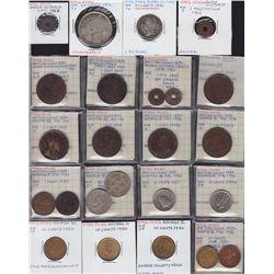 Lot of 82 Hong Kong Coins