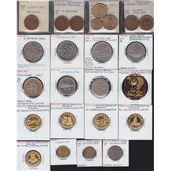 Lot of 47 Macau Coins