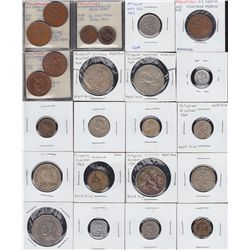 Larger lot of 163 Philippines Coins