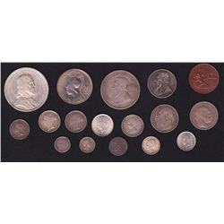 Lot of 17 Foreign Coins