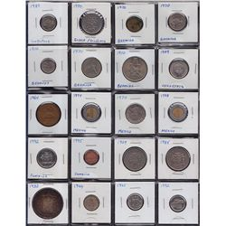Lot of 205 Miscellaneous World Coins.