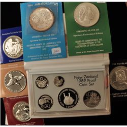 Lot of 7 Miscellaneous World Silver