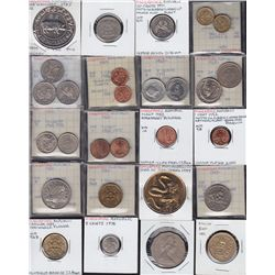 Lot of 112 Different Foreign Coins
