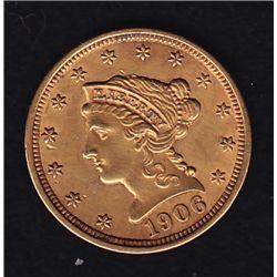1906 US $2½ Gold