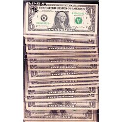 Nice lot of 50 * Star Notes