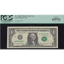 Lot of 8 PCGS Graded Modern US Banknotes.