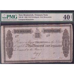 1805 New Brunswick Treasury Note