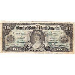 1911 British Bank of North America $10.