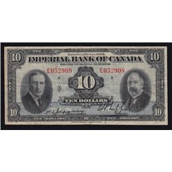 1939 Imperial Bank of Canada $10