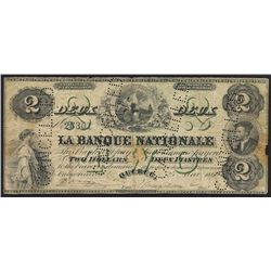 1860 Banque Nationale $2
