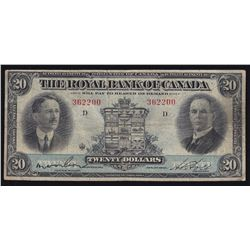 1927 Royal Bank of Canada $20