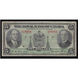 1935 Royal Bank of Canada $5