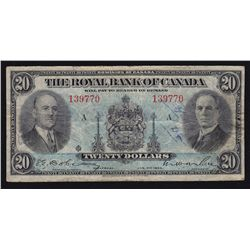 1935 Royal Bank of Canada $20