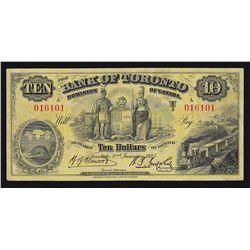 1935 Bank of Toronto $10