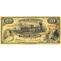 1935 Bank of Toronto $20