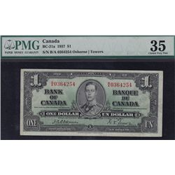 1937 Bank of Canada $1.