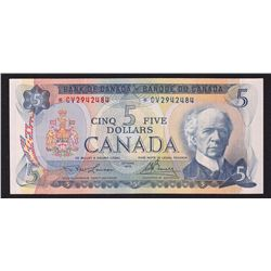 1972 Bank of Canada $5 Replacement Note