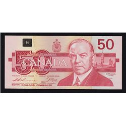 1988 Bank of Canada $50 EHX Lower Number.