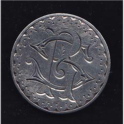 1884 USA Silver Dollar Love Token