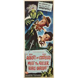 Abbott & Costello Meet the Killer, Boris Karloff poster