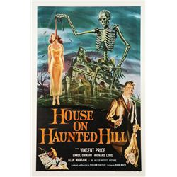 House on Haunted Hill one-sheet poster
