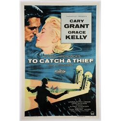 To Catch a Thief one-sheet poster