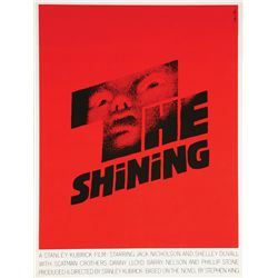 Vintage Saul Bass Mini Poster for The Shining
