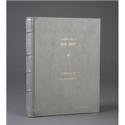 Bound script of The Mist from the personal collection of director Frank Darabont