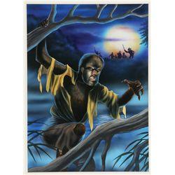 Wolfman & Frankenstein Original Artwork