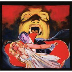 1980s Dracula original artwork