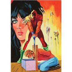 1980s Spanish Guillotine original artwork