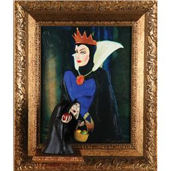 Limited Edition Giclée of the Evil Queen and Hag Sculpture
