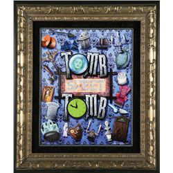 """Haunted Mansion """"Tomb Sweet Tomb"""" Giclée Print"""