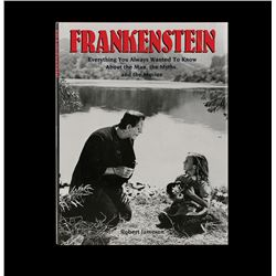 The Essential Frankenstein signed by Boris Karloff
