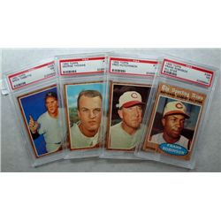 4-1962 Topps PSA NM 7's  Lot, Frank Robinson All Star & others