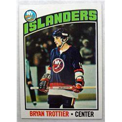1976/77 Topps #115 Bryan Trottier ROOKIE NM