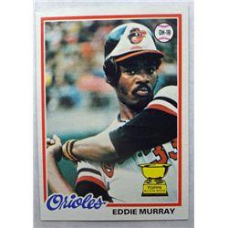 1978 Topps #36 Eddie Murray Rookie