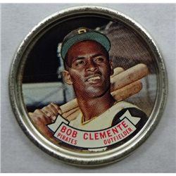 1964 Topps Coin #55 Roberto Clemente EX