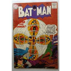 1960 BATMAN comic book #129 Origin of Robin Retold