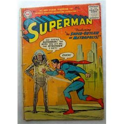 1956 SUPERMAN Comic Book #106 DC Nat'l Comics