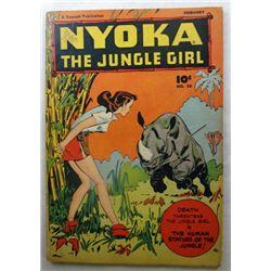 1949 NYOKA The Jungle Girl by A Fawcett Publication