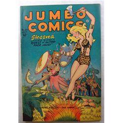 1947 Jumbo Comics Sheena Jungle Queen