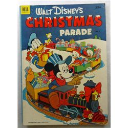 1952 WALT DISNEY Donald Duck & Mickey Mouse Christmas Parade