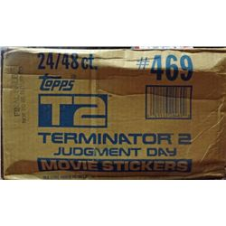 1991 Topps Terminator 2 Wax Case Sealed