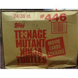 1990 Topps Teenage Mutant Ninja Turtles Wax Case