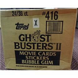 1989 Topps Ghostbusters 2 Wax Case