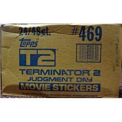 1991 Topps Terminator 2 Wax Case