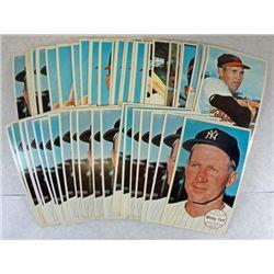 1964 Topps Giants 72 card Lot, All-Stars